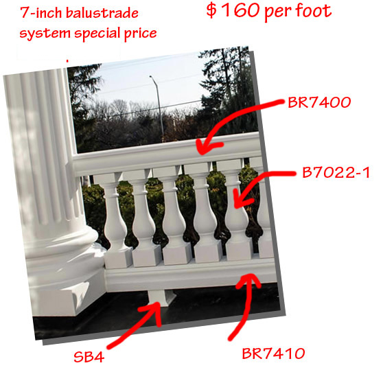 Seven Oaks Polyurethane Baluster Parrs and Prices