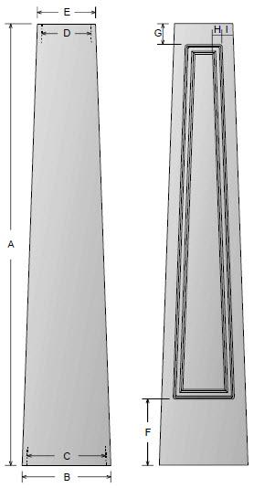 Craftsman column prices for Craftsman tapered columns