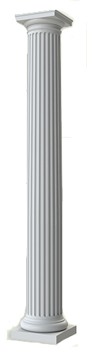 Tuscan Fiberglass Column Prices