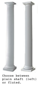 Fluted Tuscan Fiberglass Column Prices