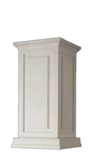 Pedestal with Raised Panels